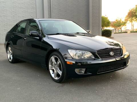 2005 Lexus IS 300 for sale at COUNTY AUTO SALES in Rocklin CA
