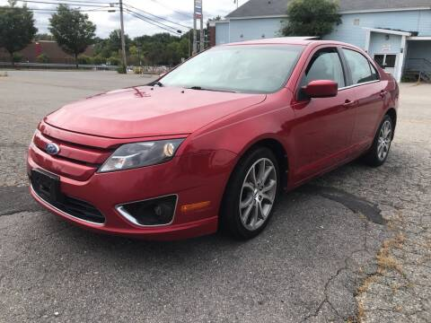 2011 Ford Fusion for sale at D'Ambroise Auto Sales in Lowell MA
