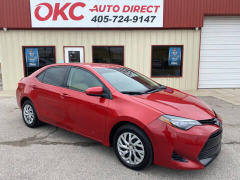 2017 Toyota Corolla for sale at OKC Auto Direct in Oklahoma City OK