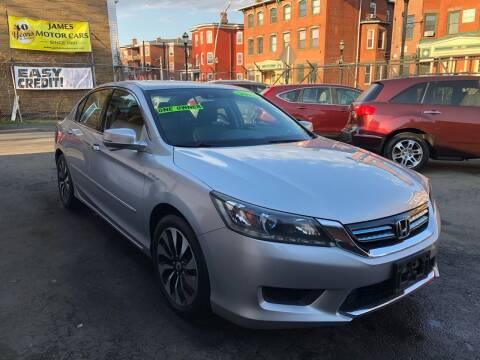 2015 Honda Accord Hybrid for sale at James Motor Cars in Hartford CT