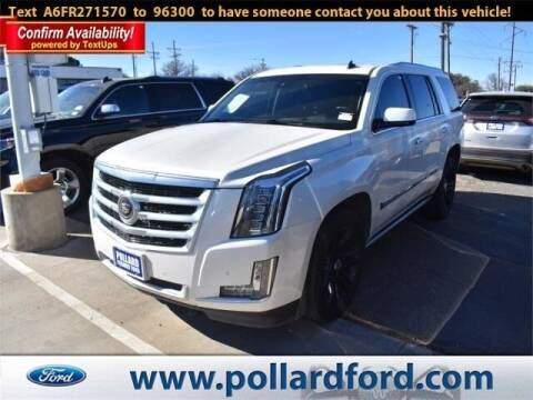 2015 Cadillac Escalade for sale at South Plains Autoplex by RANDY BUCHANAN in Lubbock TX