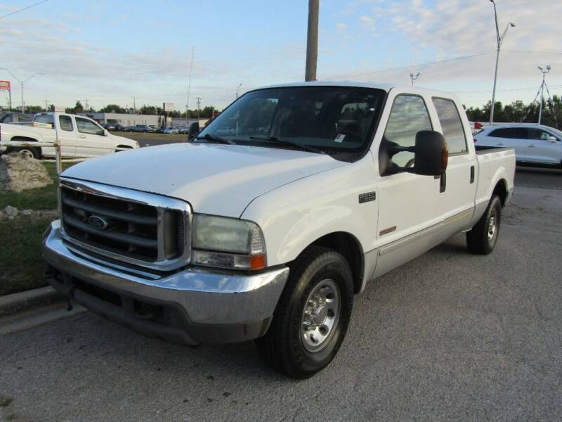 2004 Ford F-250 Super Duty for sale at Dealer One Auto Credit in Oklahoma City OK