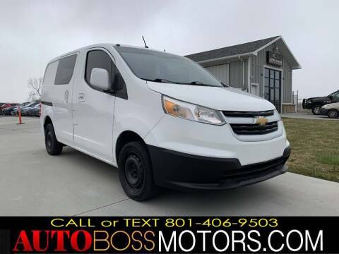 2015 Chevrolet City Express Cargo for sale at Auto Boss in Woodscross UT