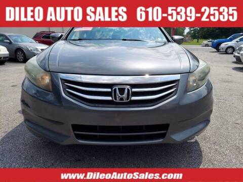 2011 Honda Accord for sale at Dileo Auto Sales in Norristown PA