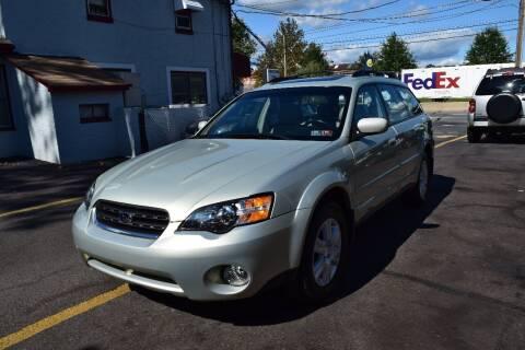 2005 Subaru Outback for sale at L&J AUTO SALES in Birdsboro PA