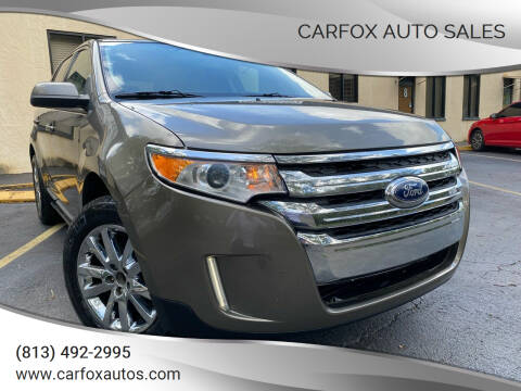 2012 Ford Edge for sale at Carfox Auto Sales in Tampa FL