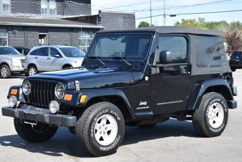 2005 Jeep Wrangler for sale at Broadway Garage of Columbia County Inc. in Hudson NY