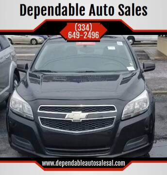 2013 Chevrolet Malibu for sale at Dependable Auto Sales in Montgomery AL