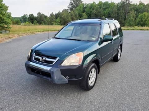 2003 Honda CR-V for sale at Apex Autos Inc. in Fredericksburg VA