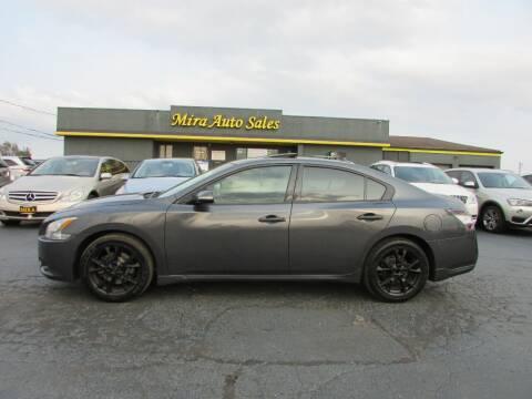 2012 Nissan Maxima for sale at MIRA AUTO SALES in Cincinnati OH