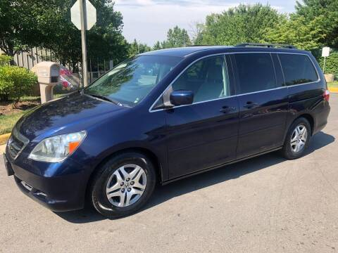 2006 Honda Odyssey for sale at Dreams Auto Group LLC in Sterling VA