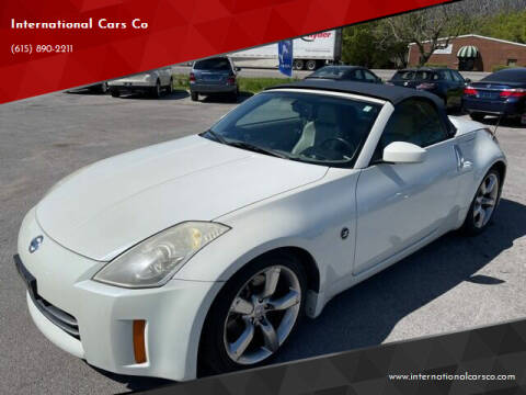 2006 Nissan 350Z for sale at International Cars Co in Murfreesboro TN