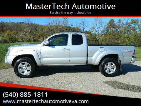 2013 Toyota Tacoma for sale at MasterTech Automotive in Staunton VA