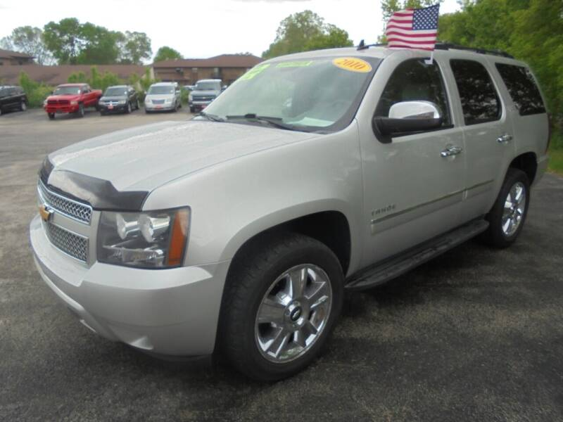 2010 Chevrolet Tahoe for sale at Century Auto Sales LLC in Appleton WI