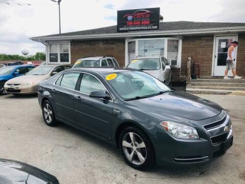 2009 Chevrolet Malibu Hybrid for sale at I57 Group Auto Sales in Country Club Hills IL