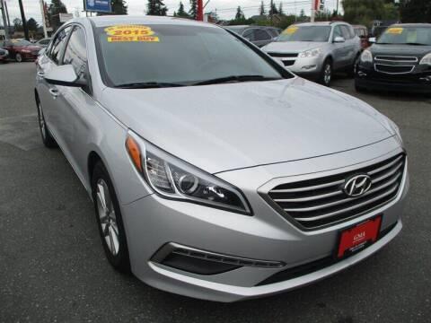 2015 Hyundai Sonata for sale at GMA Of Everett in Everett WA