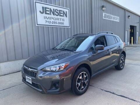 2020 Subaru Crosstrek for sale at Jensen's Dealerships in Sioux City IA