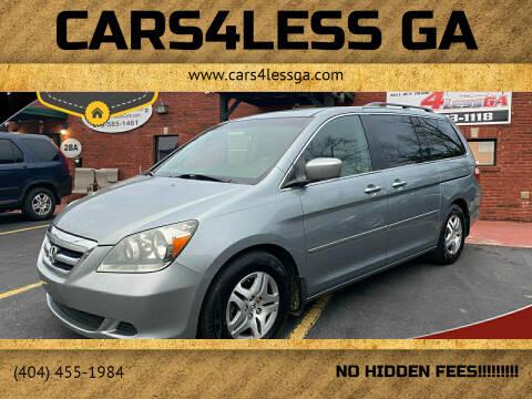 2006 Honda Odyssey for sale at Cars4Less GA in Alpharetta GA
