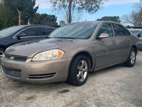 2007 Chevrolet Impala for sale at FREDY CARS FOR LESS in Houston TX