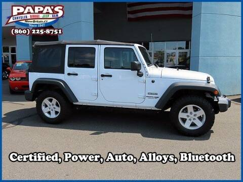 2018 Jeep Wrangler JK Unlimited for sale at Papas Chrysler Dodge Jeep Ram in New Britain CT