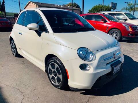 2013 FIAT 500e for sale at Westcoast Auto Wholesale in Los Angeles CA