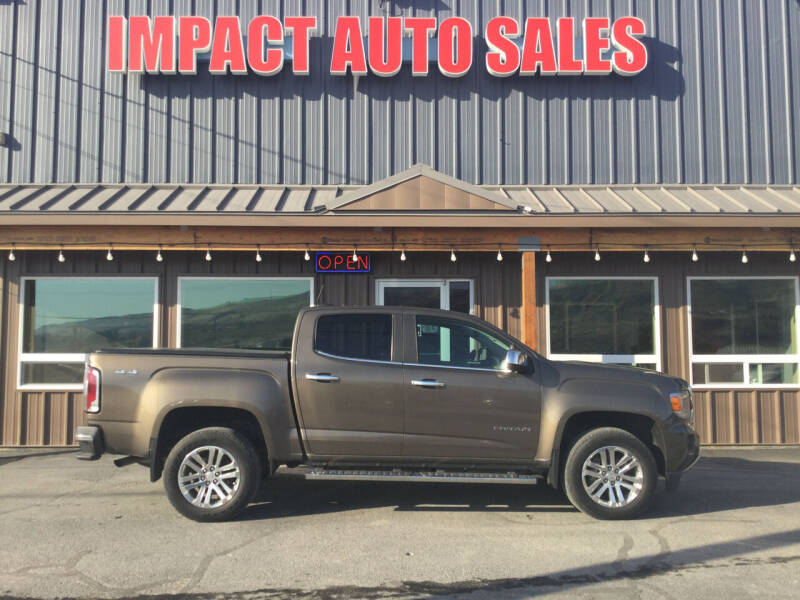 2015 GMC Canyon for sale at Impact Auto Sales in Wenatchee WA
