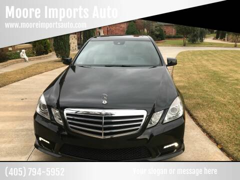 2011 Mercedes-Benz E-Class for sale at Moore Imports Auto in Moore OK