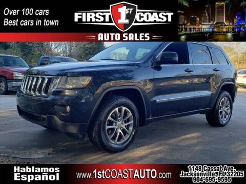 2012 Jeep Grand Cherokee for sale at 1st Coast Auto -Cassat Avenue in Jacksonville FL