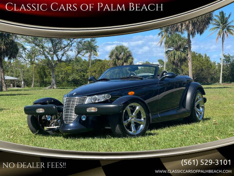 2001 Chrysler Prowler for sale at Classic Cars of Palm Beach in Jupiter FL