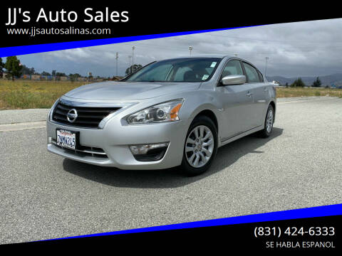 2015 Nissan Altima for sale at JJ's Auto Sales in Salinas CA
