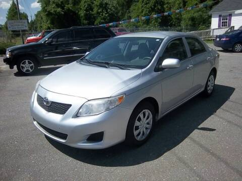 2010 Toyota Corolla for sale at Sanders Motor Company in Goldsboro NC