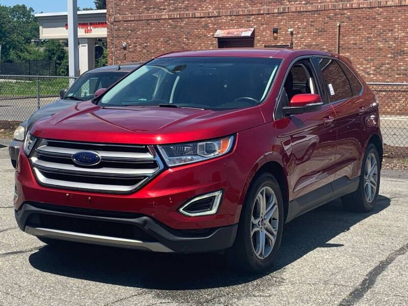 2015 Ford Edge for sale at Ludlow Auto Sales in Ludlow MA