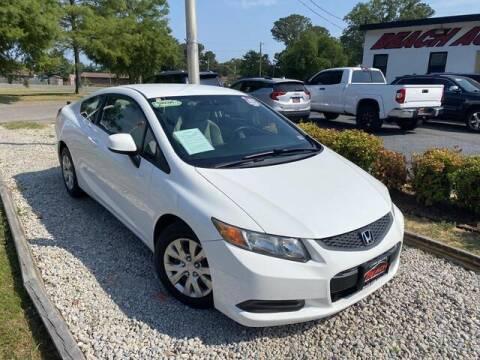 2012 Honda Civic for sale at Beach Auto Brokers in Norfolk VA
