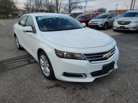 2016 Chevrolet Impala for sale at LeMond's Chevrolet Chrysler in Fairfield IL