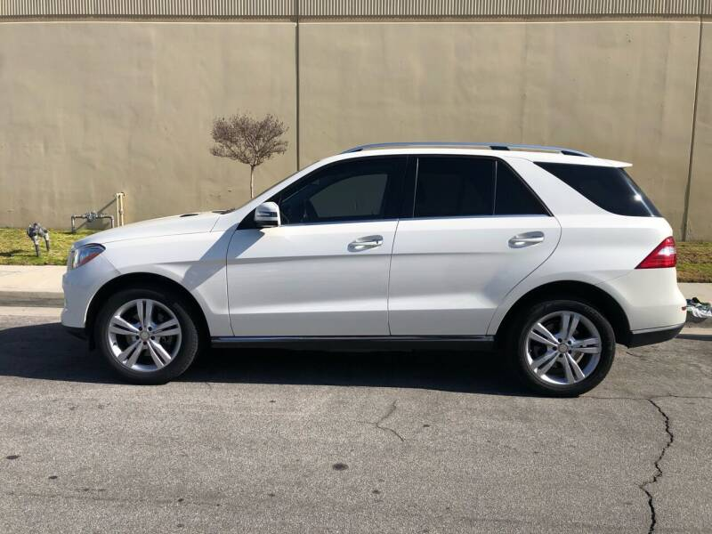 2014 Mercedes-Benz M-Class for sale at HIGH-LINE MOTOR SPORTS in Brea CA