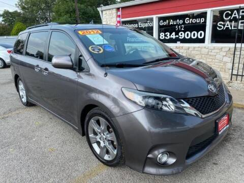 2012 Toyota Sienna for sale at GOL Auto Group in Austin TX
