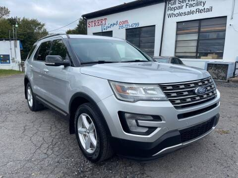 2017 Ford Explorer for sale at Street Visions in Telford PA