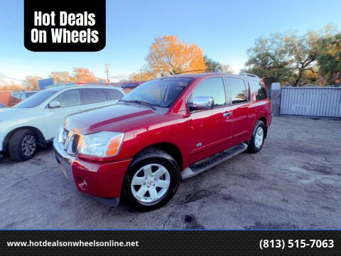 2007 Nissan Armada for sale at Hot Deals On Wheels in Tampa FL