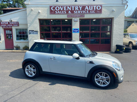 2011 MINI Cooper for sale at COVENTRY AUTO SALES in Coventry CT