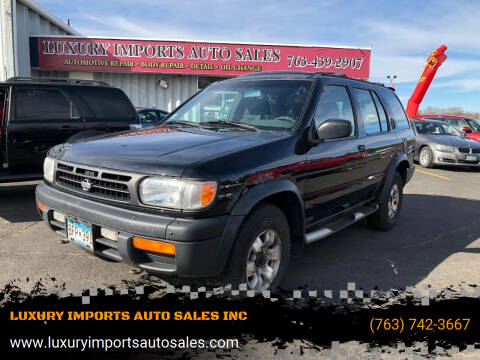 1998 Nissan Pathfinder for sale at LUXURY IMPORTS AUTO SALES INC in North Branch MN