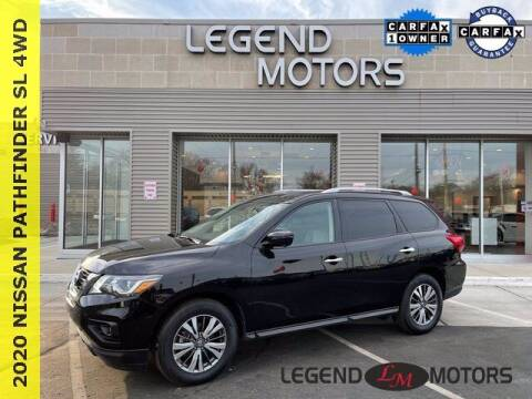 2020 Nissan Pathfinder for sale at Legend Motors of Waterford in Waterford MI