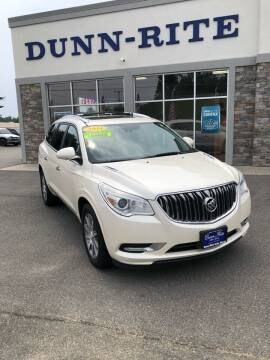 2014 Buick Enclave for sale at Dunn-Rite Auto Group in Kilmarnock VA