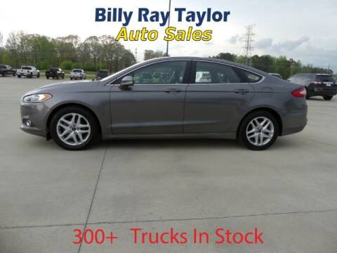 2014 Ford Fusion for sale at Billy Ray Taylor Auto Sales in Cullman AL