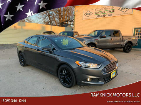 2015 Ford Fusion for sale at RamKnick Motors LLC in Pekin IL