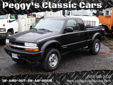 2000 Chevrolet S-10 for sale at Peggy's Classic Cars in Oregon City OR