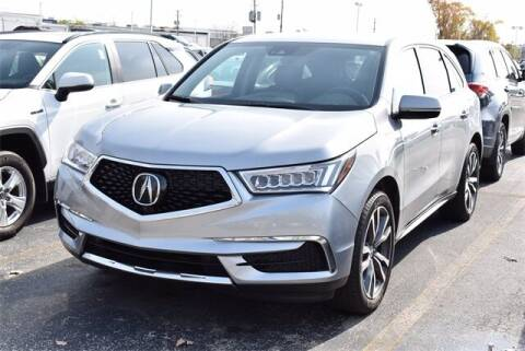 2019 Acura MDX for sale at BOB ROHRMAN FORT WAYNE TOYOTA in Fort Wayne IN