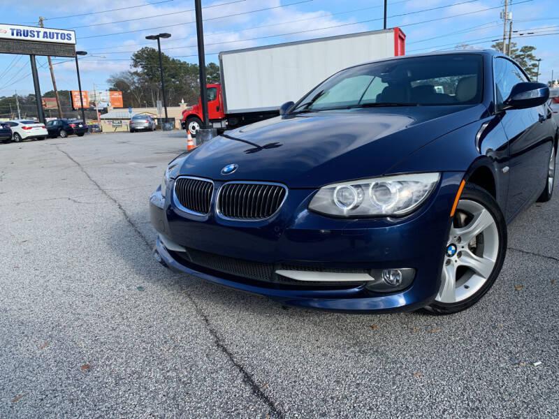 2013 BMW 3 Series for sale at Trust Autos, LLC in Decatur GA