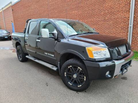 2012 Nissan Titan for sale at Minnesota Auto Sales in Golden Valley MN