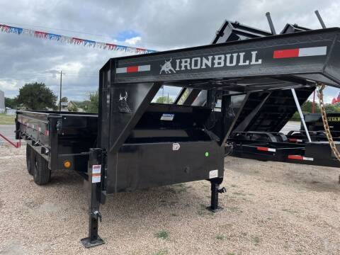 """2022 IRON BULL  - 96"""" X 14' - DECK OVER  for sale at LJD Sales in Lampasas TX"""
