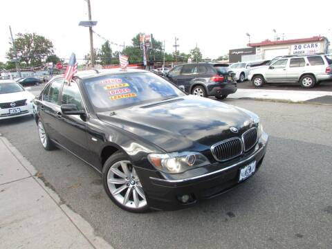 2006 BMW 7 Series for sale at K & S Motors Corp in Linden NJ
